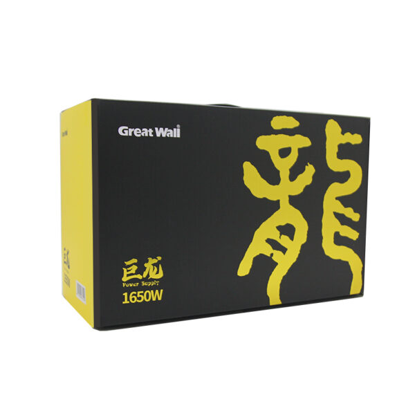 Great Wall rated 1650W 80PLUS gold